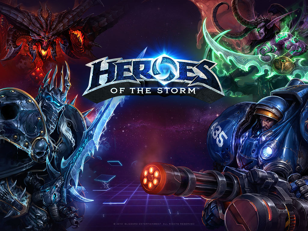 Heroes of the Storm _ Blizzard