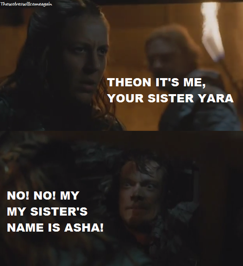 Game of Thrones Theon Yara