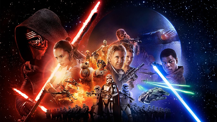 Star Wars le Réveil de la Force Poster officiel