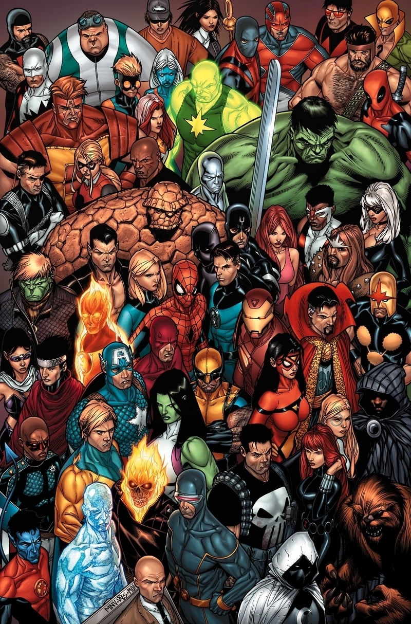 marvel comics personnages