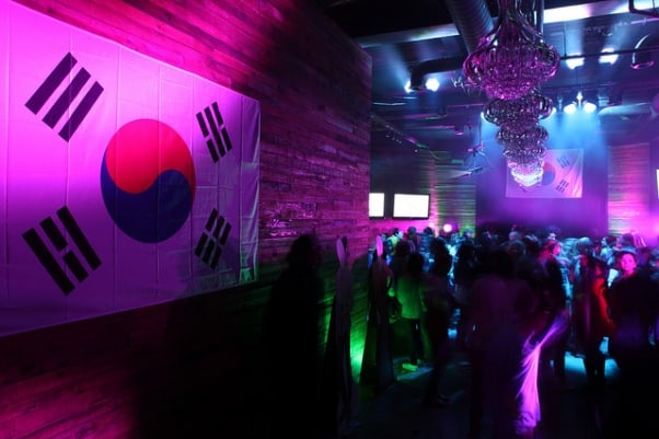 kpop power party cosmos alger