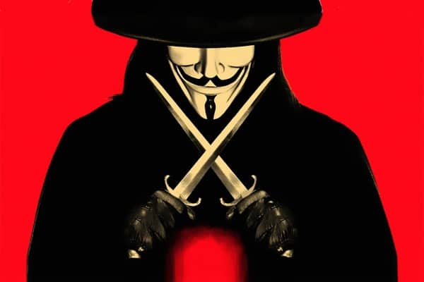 v vendetta alan moore -tv serie