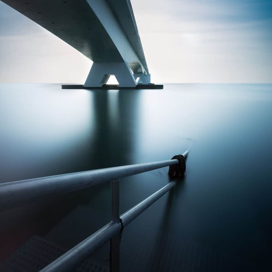 Zeeland Bridge Netherlands