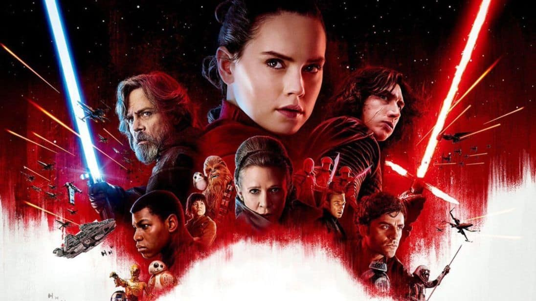 Star Wars the last jedi affiche