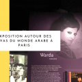 Exposition Divas monde arabe paris